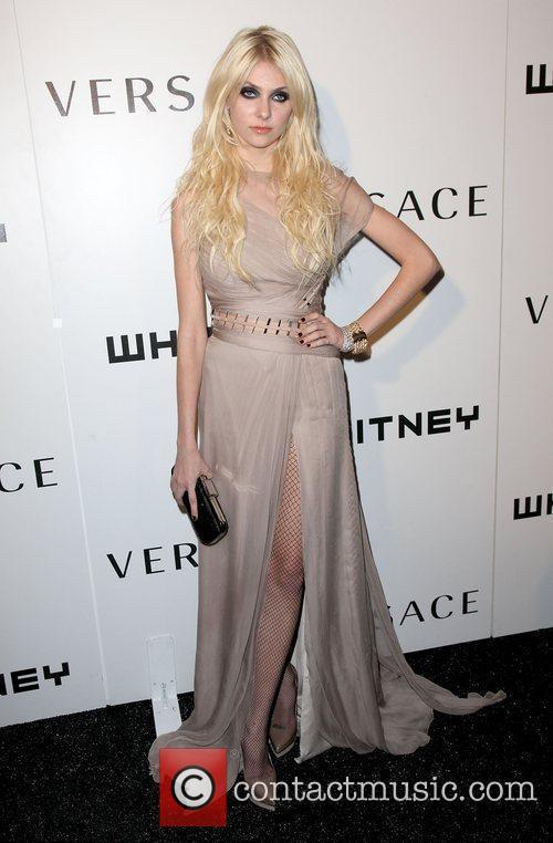 Actress Taylor Momsen  2009 Whitney Museum Gala...
