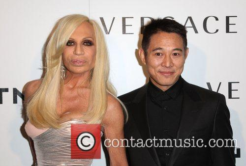 Donatella Versace, Jet Li and Versace 4