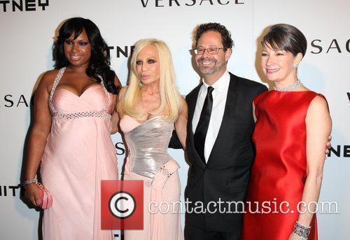 Jennifer Hudson, Donatella Versace and Versace 9