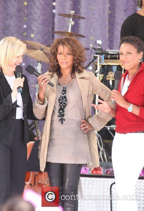 Diane Sawyer and Whitney Houston 4
