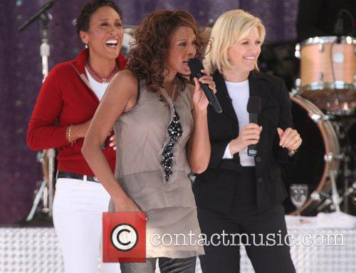 Robin Roberts and Whitney Houston 1