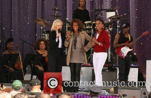 Diane Sawyer and Whitney Houston 6