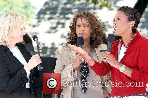 Diane Sawyer and Whitney Houston 3