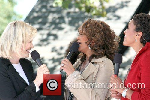 Diane Sawyer and Whitney Houston 2