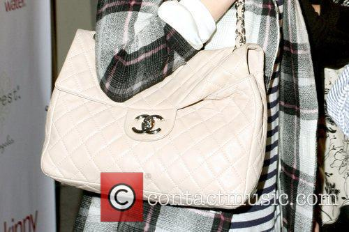 Whitney Port's chanel purse Whitney Port outside the...
