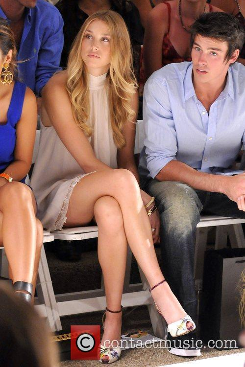 Whitney Port and Adam Gregory Mercedes-Benz Fashion Week...