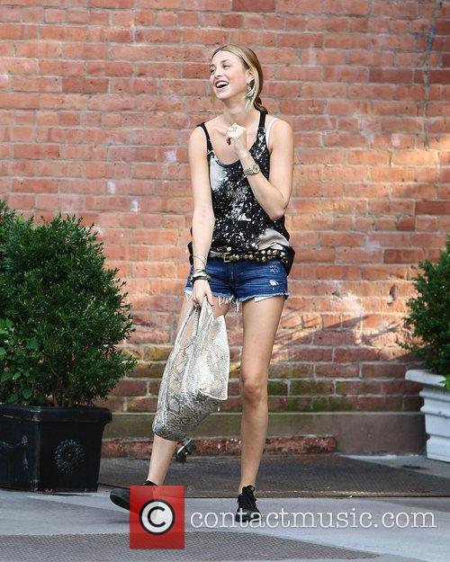 Whitney Port  on the set of 'The...