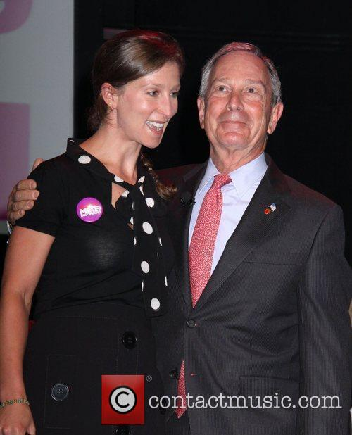 Mayor Michael Bloomberg and his daughter, Emma Bloomberg...