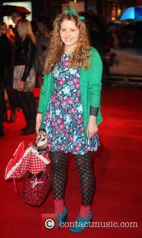 Jessie Cave  UK Premiere of the film...