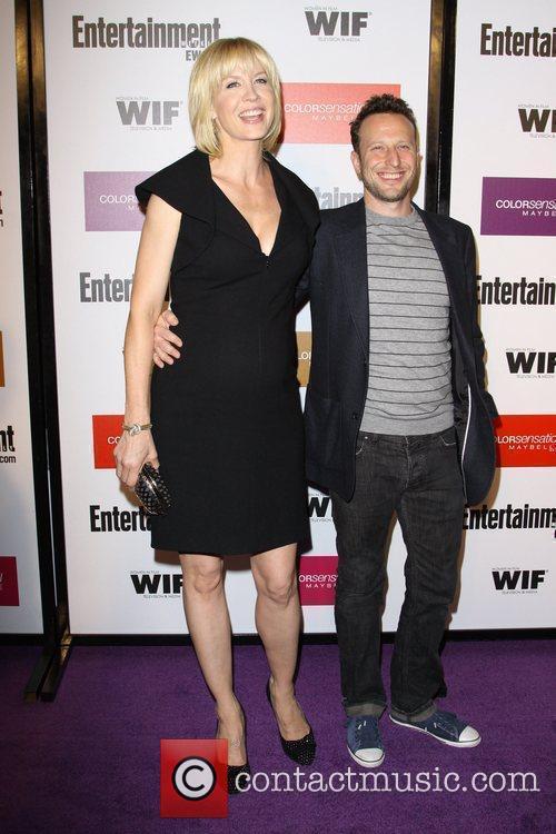 Jenna Elfman and actor Bodhi Elfman 2009 Entertainment...