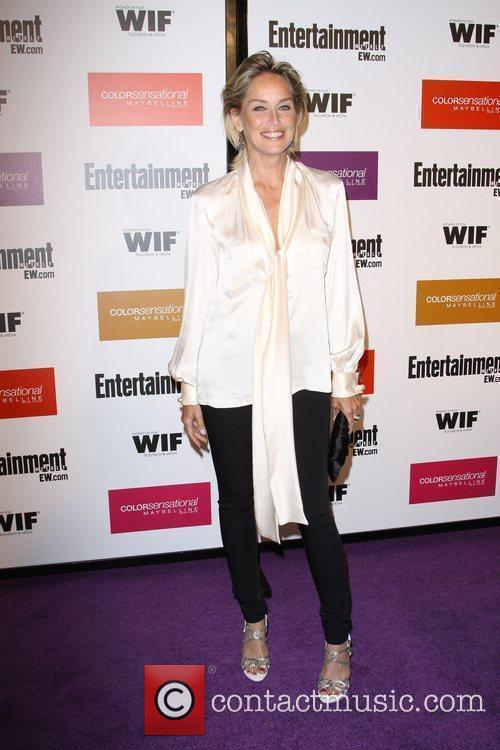 Sharon Stone 2009 Entertainment Weekly & Women In...