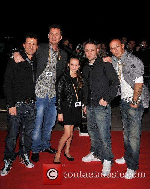 East 17 'Born Free: Wild And Live' charity...