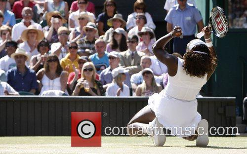 Serena Williams 2009 Wimbledon Tennis Championships - Women's...