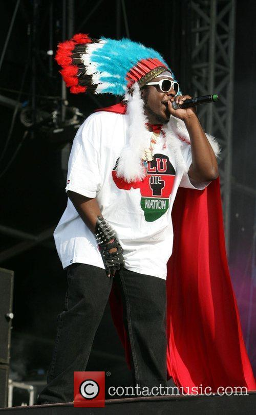 Afrika Bambaataa, the SoulSonic Force performing at the Wireless 2009 held at Hyde Park - Day 1 and Wireless Festival 4