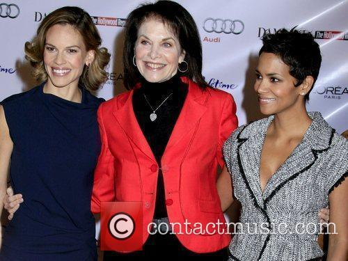 Hilary Swank, Sherry Lansing and Halle Berry 'Hollywood...