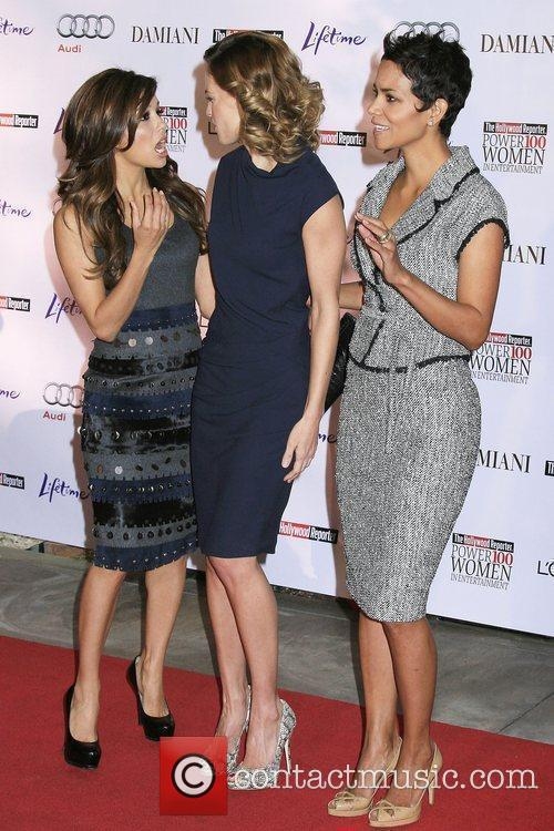 Eva Longoria-Parker, Hilary Swank and Halle Berry 'Hollywood...