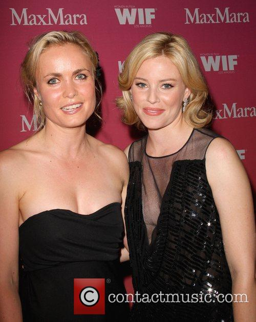 Radha Mitchell and Elizabeth Banks 2
