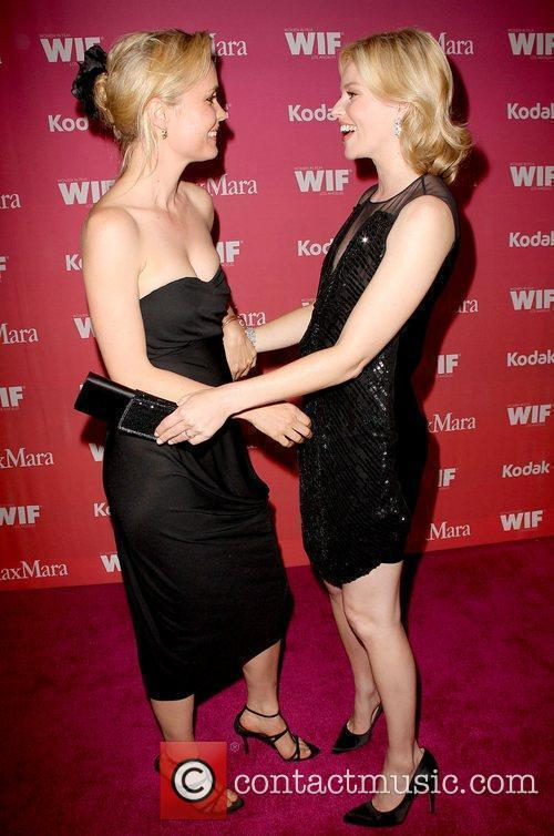 Radha Mitchell and Elizabeth Banks 1