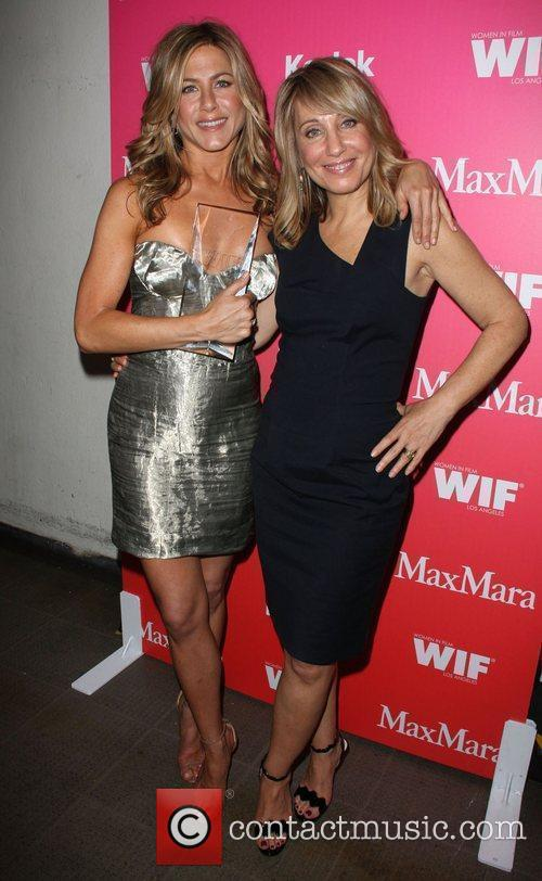 Jennifer Aniston and Stacey Snider 1