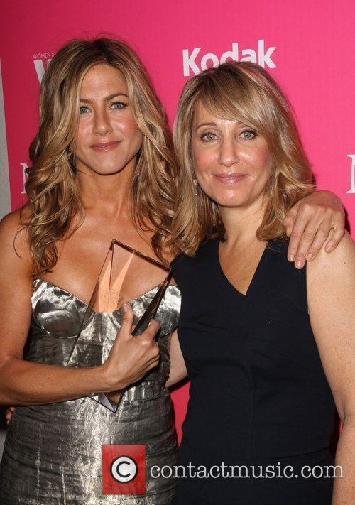 Jennifer Aniston and Stacey Snider 2