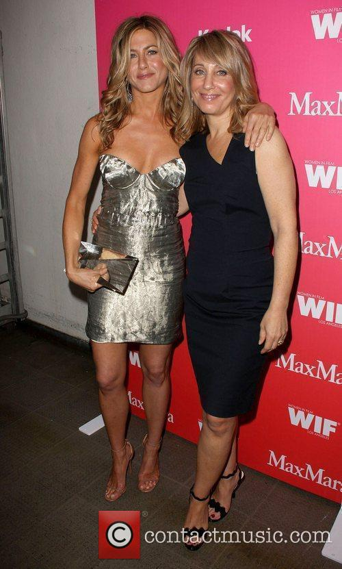 Jennifer Aniston and Stacey Snider 4