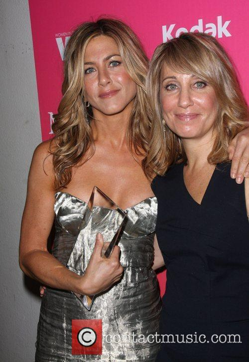 Jennifer Aniston and Stacey Snider 3