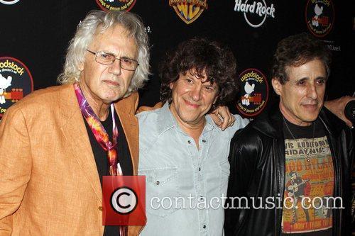Artie Kornfeld, Michael Lang and Joel Rosenman...