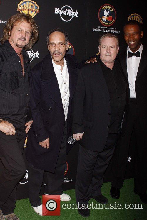 Gregg Rolie, Michael Shrieve, Michael Carbello and Alfonso...