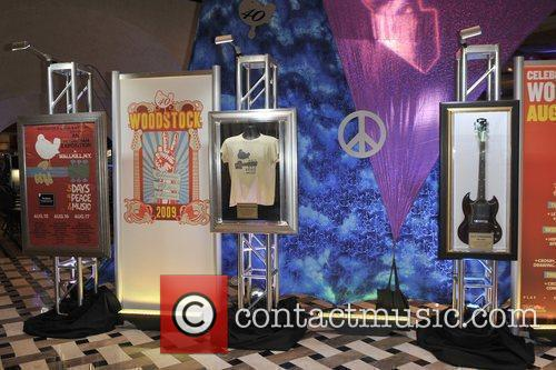 Atmosphere Original items from the Woodstock Music Festival...