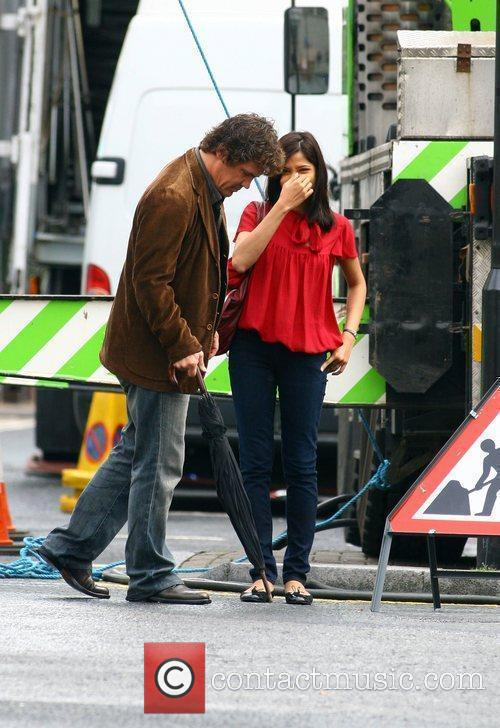 Freida Pinto and Woody Allen 6