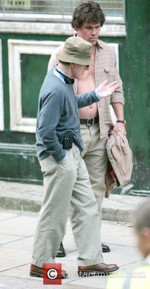 Josh Brolin and Woody Allen 9