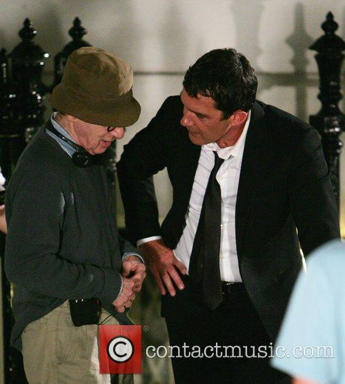 Antonio Banderas and Woody Allen 7