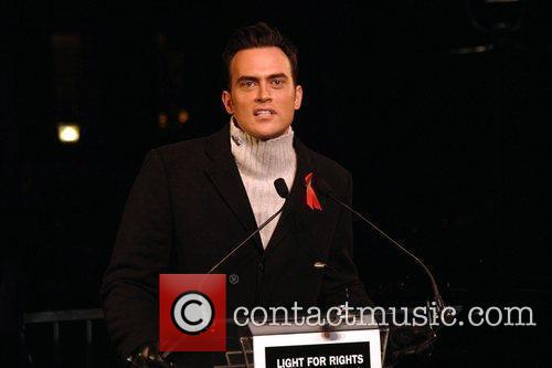 Cheyenne Jackson World's AIDS Day 'Light for Rights'...