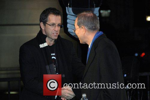 Kenneth Cole and Ban Ki-moon World's AIDS Day...