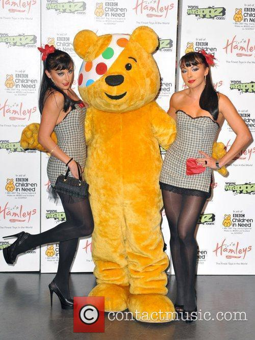 Launch of Wrappz BBC Children in Need 2009...