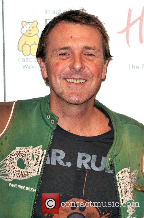 Phil Tufnell Launch of Wrappz BBC Children in...