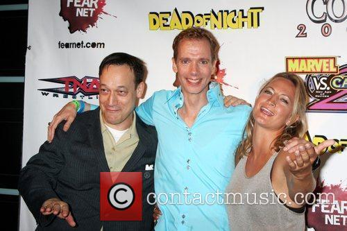 Ted Raimi and Zoe Bell 1