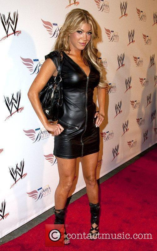 Nancy O'Dell and World Wrestling Entertainment SummerSlam Kickoff...