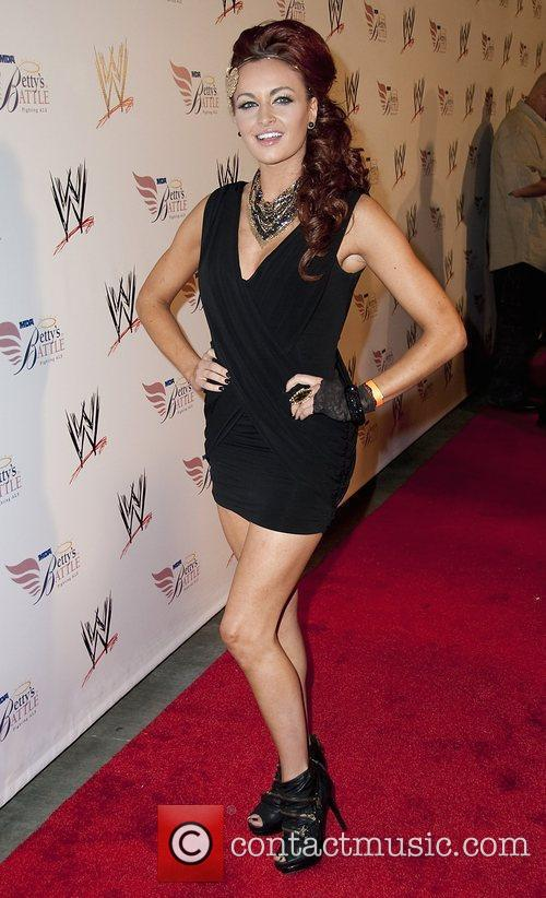 Maria Kanellis  Nancy O'Dell and World Wrestling...