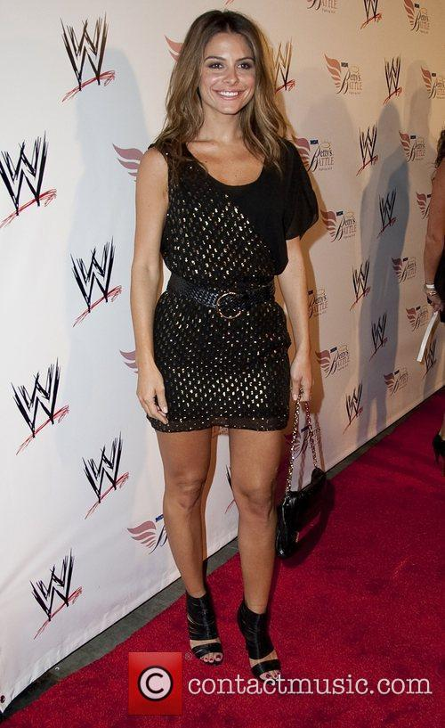 Maria Menounos Nancy O'Dell and World Wrestling Entertainment...