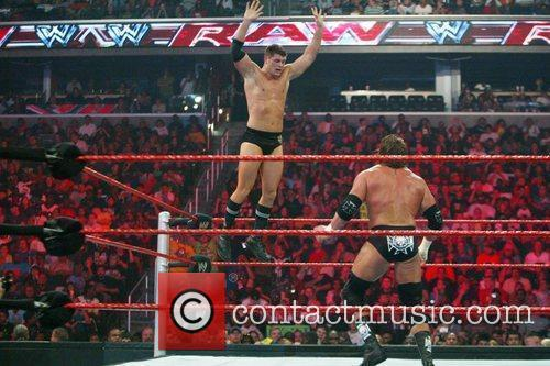 Triple H and Cody Rhodes WWE Raw held...