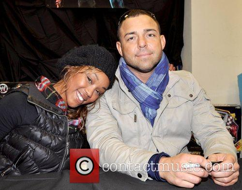 WWE stars attend a meet and greet at...