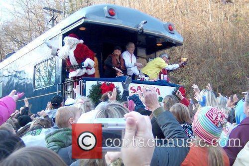 Wynonna Judd aboard the 67th annual Santa Train...
