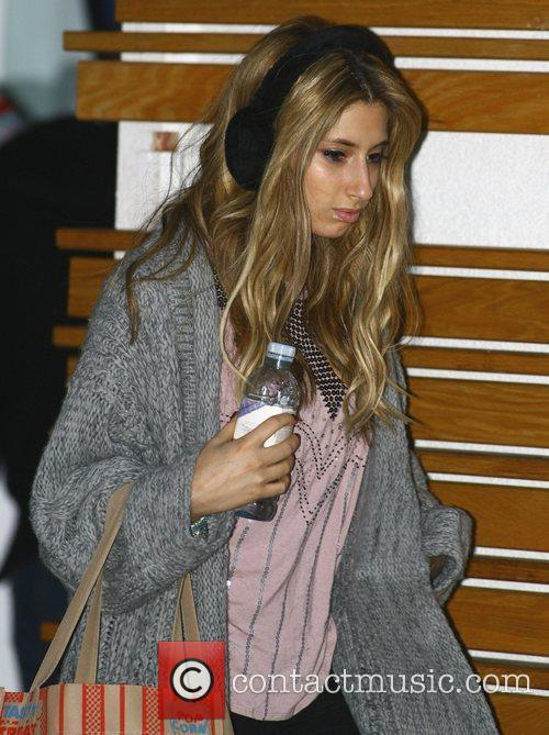 Stacy Solomon looking tired while leaving the 'X...