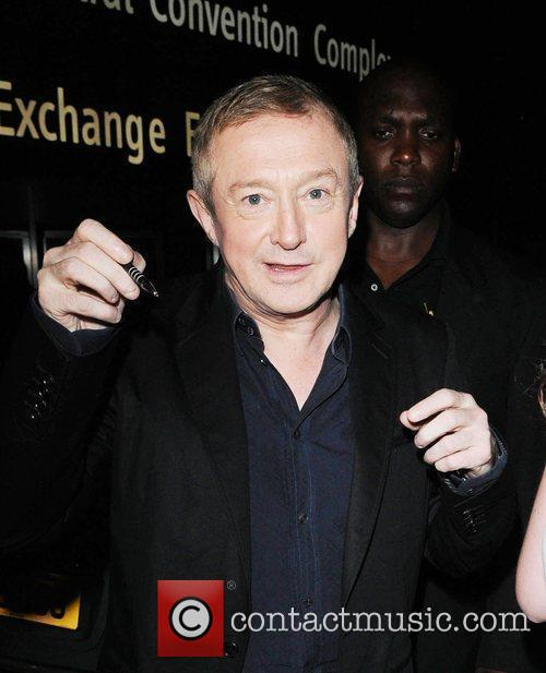 Louis Walsh outside his hotel after the 'X...