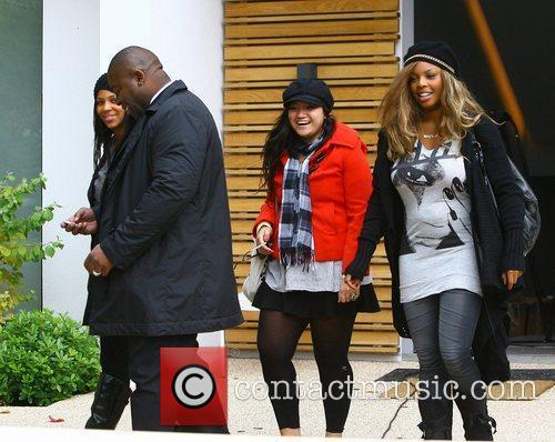 Leaving the 'X Factor' house