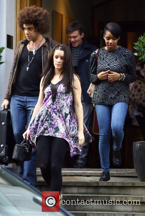 Lucie Jones, Jamie Archer, Rikki Loney and Rachel...