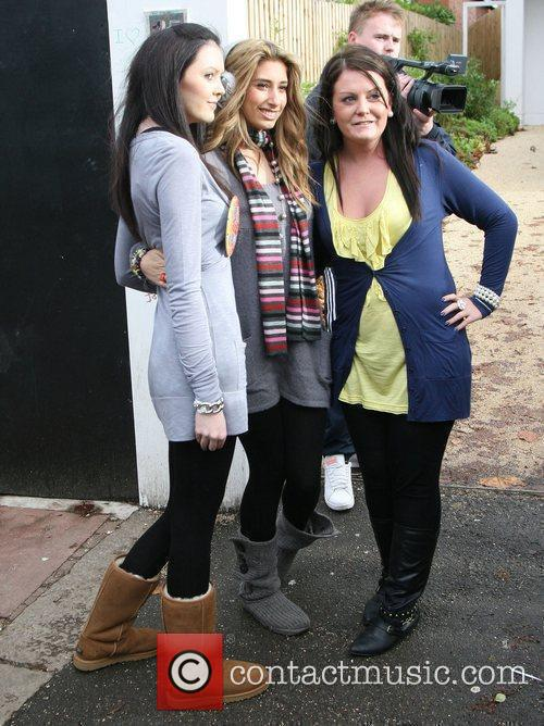 Outside the 'X Factor' house