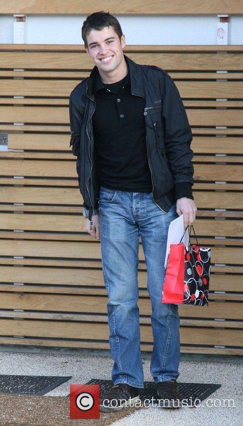 'X Factor' contestant Joseph McElderry  leaving the...