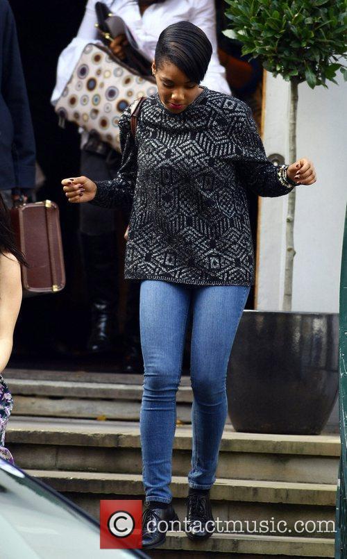 Rachel Adedeji The 'X Factor' finalists leave the...